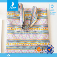 New design casual stripe vintage promotional beach bags