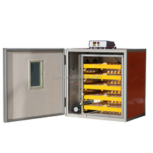 Professional commercial incubation bird equipment lighted incubator with CE certificate