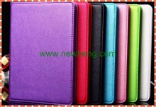 High quality business style plain leather case with card holder for ipad air 2