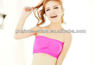 J12 LY012-50 pcs Seamless Sports Bra wrapped chest underwear anti emptied large yard backing wipe bust chest