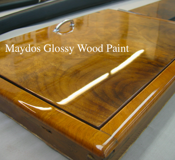 Solid Wood Glossy Finish Yellow Resistance UV Odorless Glass Paint