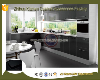 2017 Newest Customize wholesale modular handless kitchen cabinet