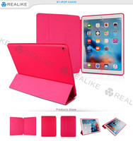 "High quality pu leather magnetic stand cover for ipad pro, 12.9"" case"