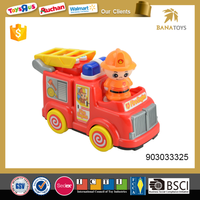 Lovely Battery Operated Fire Engine Toy for Baby