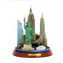 Custom New York City Skyline Building Architecture Model Statue for Souvenirs