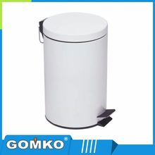 High class promotional trash can embossed recycle waste bin