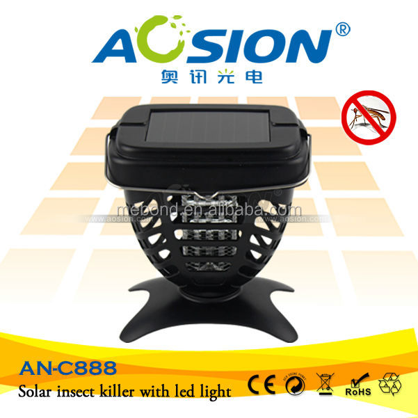 Advanced Solar Electric pest control mosquito killer With UV Lamp