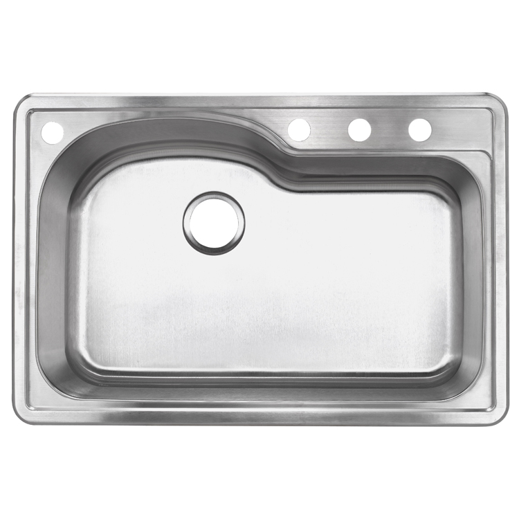 Foshan Manufacturers Small Size 304 Stainless Steel Sink for Kitchen