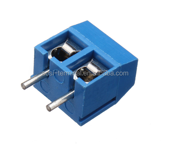 High Quality 5.0mm Pitch PCB Mount Screw Terminal Block
