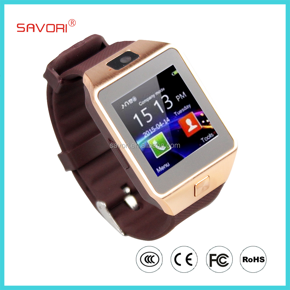 Bluetooth Phone watch DZ09 2016 new Bluetooth Smart Watch DZ09 1.56 inch SIM Card Smartwatch Sport wristwatch