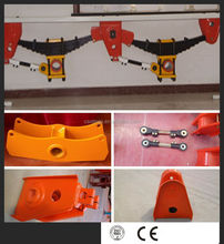 12T per Axle Mechanical Leaf Spring Trailer Suspension For Sale/Trailer parts