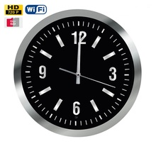 DVR HD 720P CMOS 13.5Inch Motion Detection Spy Wall Clock Camera With 14Hours Long Time Recording