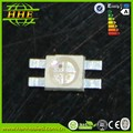New Design Products!!!High Brightness SMD LED 6028 tri-color smd led diodes