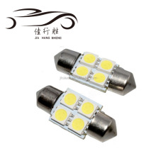5050 31mm 36mm 4SMD Car Interior Dome Festoon White LED Light Bulbs Lamp DC12V White Lights Bulb