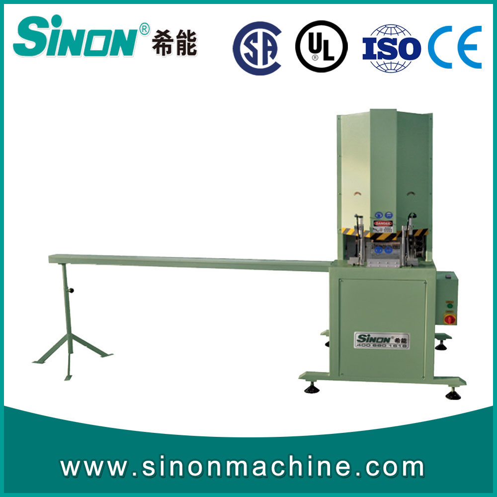 PVC UPVC window door Mid mullion profile cutting saw machine