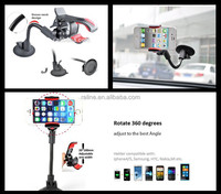 Car window mount clip shaped phone holder for Phone 6 plus Universal Car phone holder 360 degrees air vent mount holder HC02