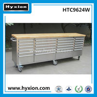 96inch 24 drawers movable casters rolling master hand tool box