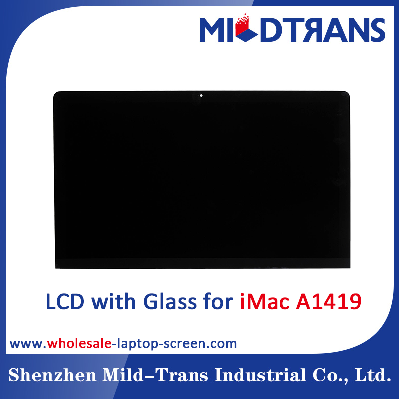"Replacement LCD screen for iMac A1419 27"" inch lcd led display with glass"