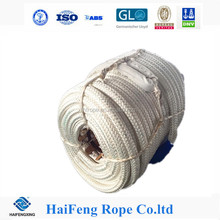 8/12 strand 68mm Polypropylene polyester mixed rope ,anchor rope