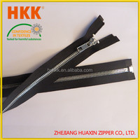 High quality stainless steel zipper