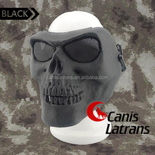 Airsoft painball Tactical Skull Mask Full Face Protect CL9-0045