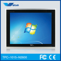15 inch TPC-1015 industrial pc fanless