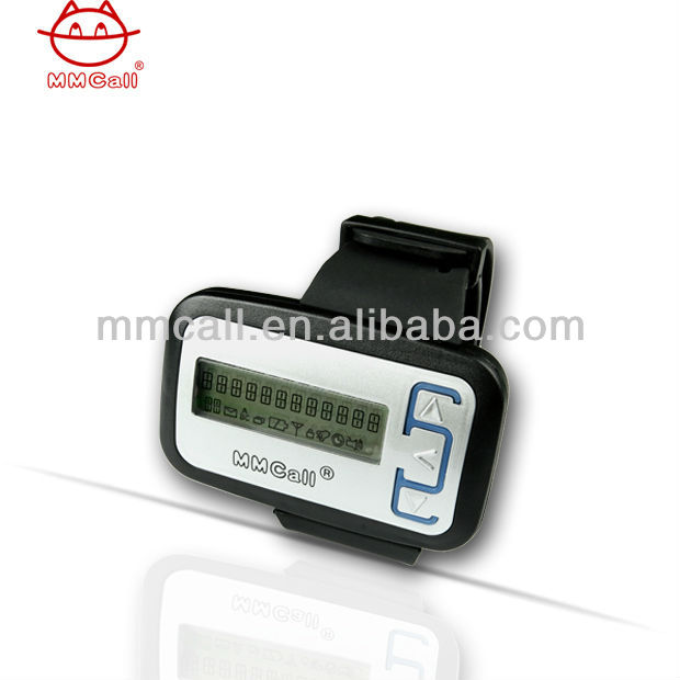 numeric wireless calling watch pager