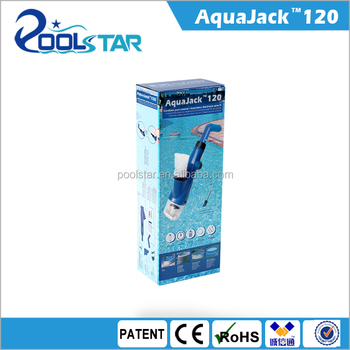 AquaJack 121 cordless Pool Spa rechargeable Cleaner Battery vacuum cleaner