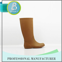 Most popular Low price 100% Natural Rubber Summer long leg latex boots for crossdresser