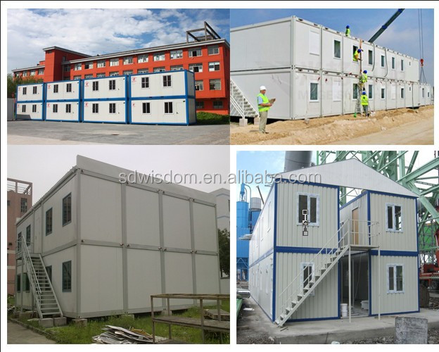 easy to install and dismantle container house for office, living