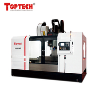 24 tools vertical cnc machining center F800 with built-in machine lamp & coolant system
