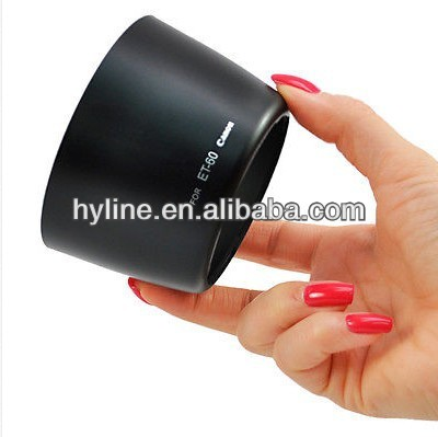 58MM ET-60 Lens Hood for Canon T3i T2i T1i T3 XTi XT XSi EF-S 55-250mm 75-300mm