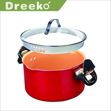 Hot Sale New Aluminium Stock Pasta Pot With Steamer
