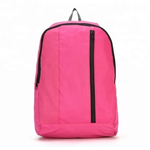 2018 manufacturers China cheapest Backpack bag high school backpack promotional backpack for woman
