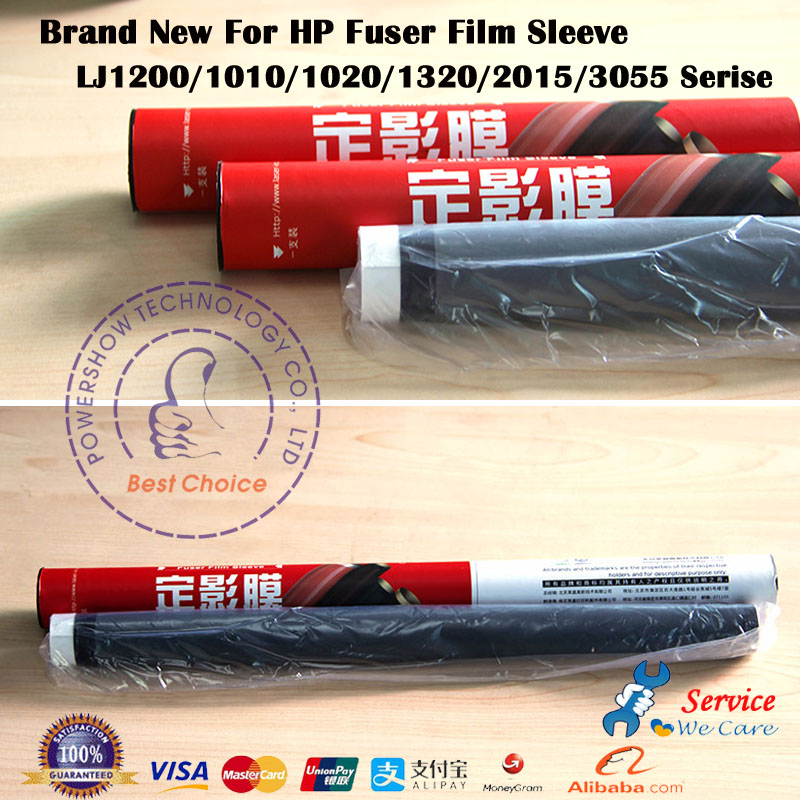 New Fuser film For HP 1010 1160 1320 1022 1020 P1008 M1005 RG9-1493 HP2015 HP2727 For canon LBP2900 1210 L100 <strong>L120</strong> Serse