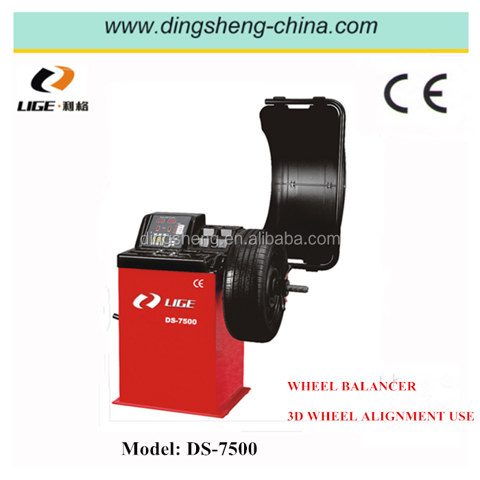 Smart tire changer and wheel balancer machine used 3d wheel alignment DS-7500