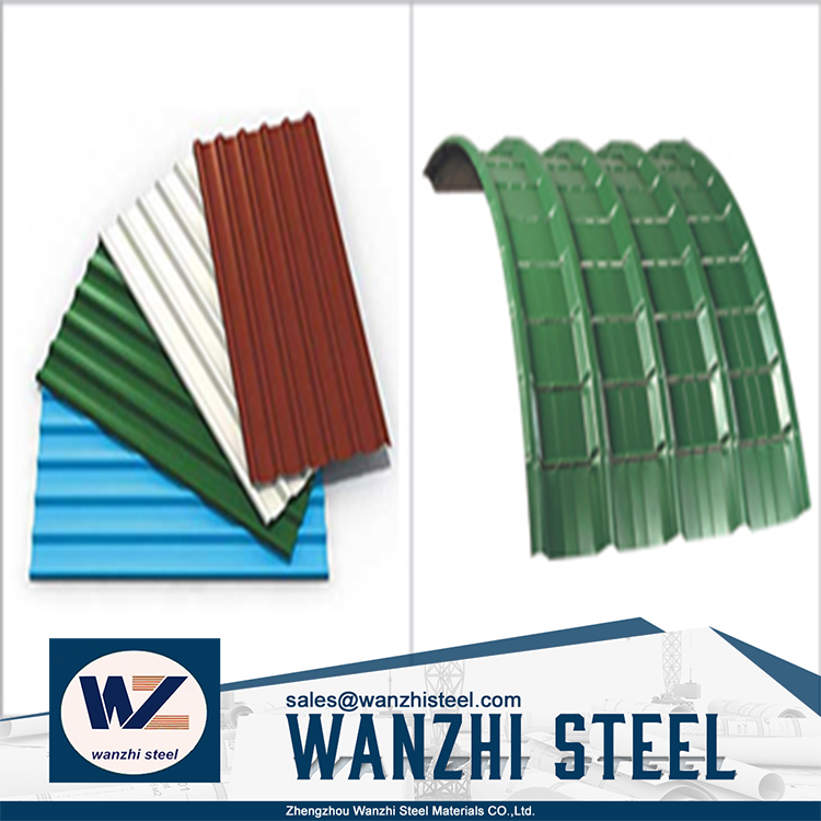 Light Weight Galvanized Prepainted Roofing Steel Material
