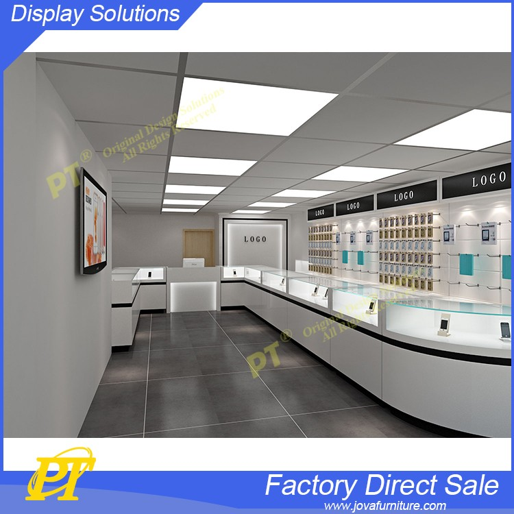 Mobile phone shop names for glass mobile phone shop decoration