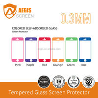 color tempered glass screen protector for iphone 5, screen protector machine