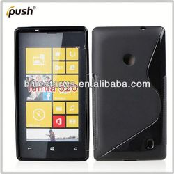 2014 factory directly stylish soft tpu case for nokia lumia 520 cellphone case for nokia 520