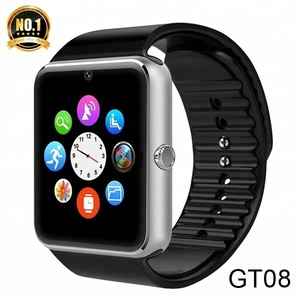 Wholesale Sport Sim Watch Phone Smartwatch Android V8 GT98 DZ09 GV18 GT08 Smart Watch 2018