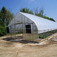 Tunnel Greenhouse Hoop Greenhouse Agricultural