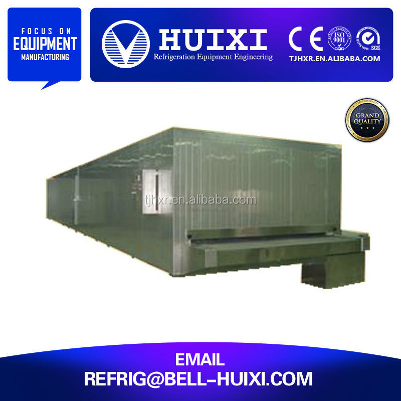 IQF Vegetable Fast Quick Frezer