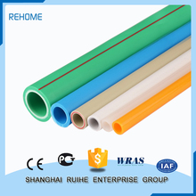 Water supply Energy-saving ppr pipe sizes chart corrugated plastic