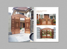 Top Quality Nigeria Main Entrance Exterior Cheap Steel Security Door Design