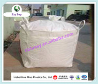 100% pp woven ton bag 1000kg FIBC super sacks for lime cement and chemical,1 ton pp woven big bag jumbo bag factory in cangzhou