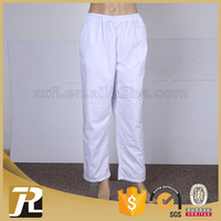 Hot Selling professional good serve mens white linen pants