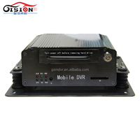 Alibaba Best Sellers GS-8404 HDD Car Black Box MDVR 4CH Support SD Card Recorder Video Sound For Car