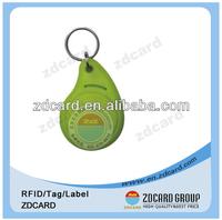 High quality plastic key fobs