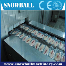 high-efficiency food processing machine/iqf tunnel Tunnel Quick Freezer
